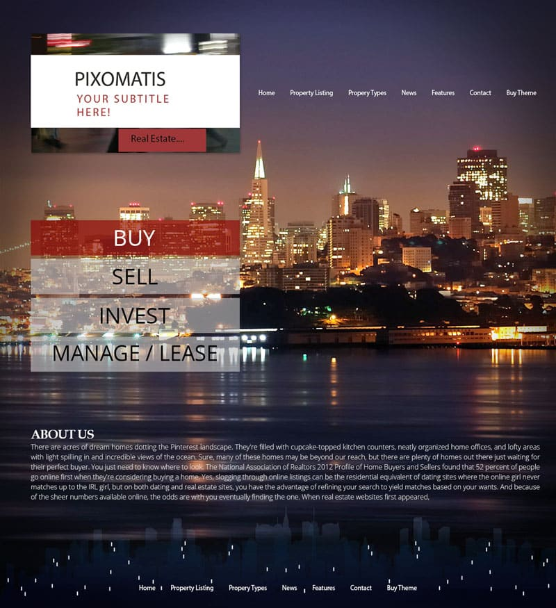 Real Estate Website Design | Don Web Solutions | Website Design San Francisco